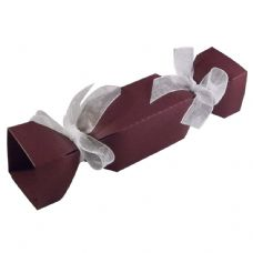Maroon Cracker Designer Favour Boxes